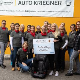 Auto Kriegner GmbH Ladies' Circle Trattnachtal Sponsoring Charity